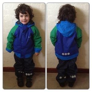 Kozi Kidz Kid's Varberg Rain Jacket