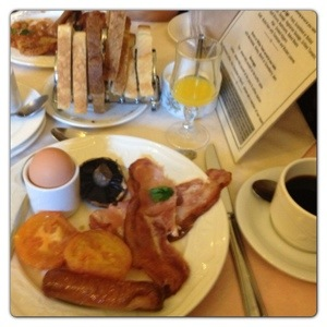 The Ambassador Hotel Breakfast
