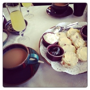 The Ambassador Hotel Cream Tea