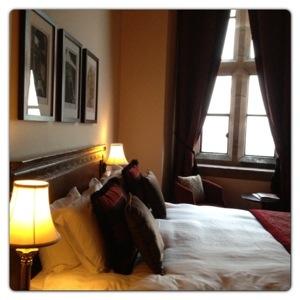 Room at Peckforton Castle