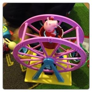 Peppa Pig Ferris Wheel
