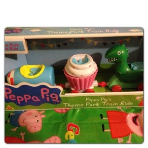 Peppa Pig Theme Park Train Ride