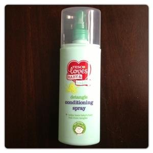 Tesco Loves Baby Detangle Conditioning Spray