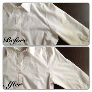 """""""Wardrobe"""" Yellow Stains on White Shirt"""