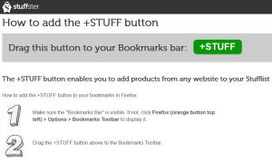 Stuffster +STUFF Button