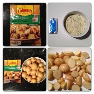 Colman's Season & Steam Garden Herb Potatoes