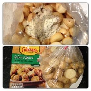 Garden Herb Potatoes
